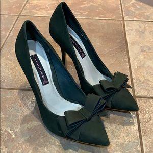 Steven by Steve Madden Ravesh bow heels leather